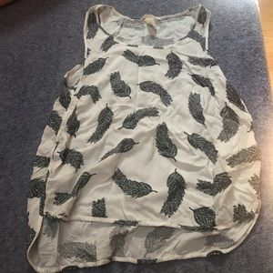 H&M muscle tee blouse
