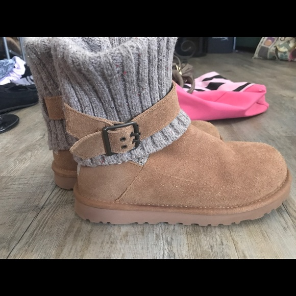 95901fb5387 Chestnut Ugg Cambridge Knit Buckle