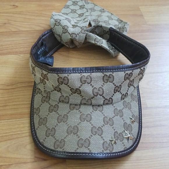 Gucci Other - Authentic GUCCI visor 8ea7ba4949c