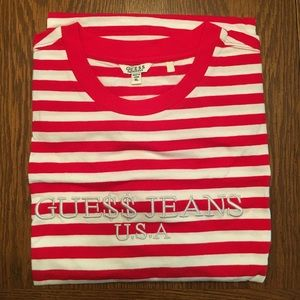 Red/white Guess x ASAP T-Shirt