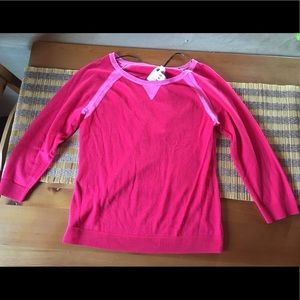 🌺KENSIE Pieces - Pink light weight Sweater - M