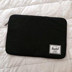 """Herschel 15"""" Black Laptop Sleeve"""