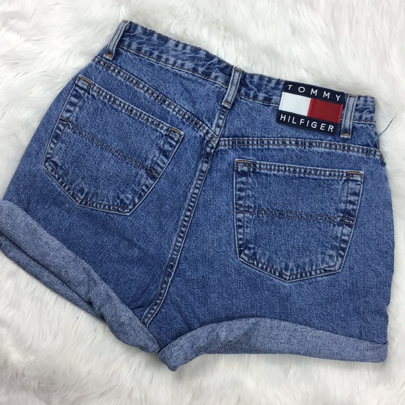 75341c5c Tommy Hilfiger Mom Jeans High Waist Vintage Shorts.  M_59b43f6afbf6f912d100cd1c