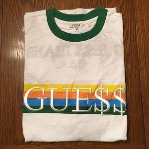 Guess ASAP Green Ringer T- Shirt