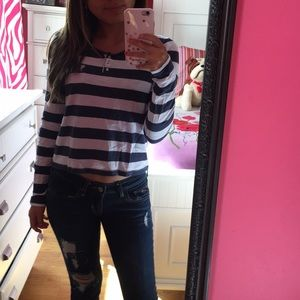 Tops - Abercrombie & Fitch stripped shirt