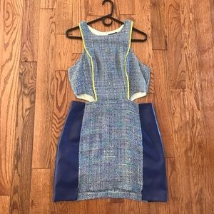 Colorful Boucle Dress
