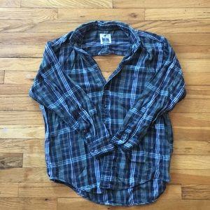 LF Open Back Flannel