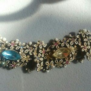 Jewelry - ANTIQUE rhinestone bracelet