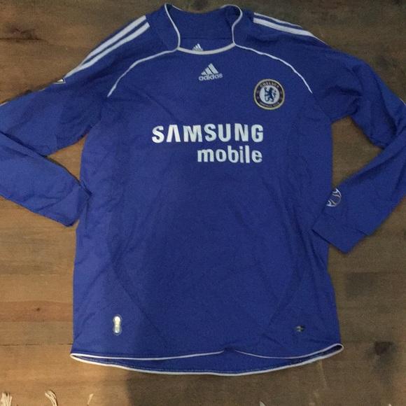 adidas Other - Adidas Drogba Long Sleeve Chelsea Jersey e594dffce