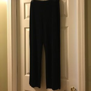 Chico's Black Travelers pants, size 2