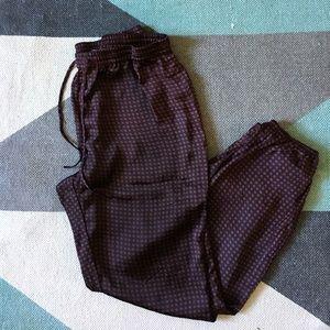 Nordstrom Chelsea 28 silky printed pajamas pants