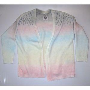 UNIF Rainbow Ombre Cardigan