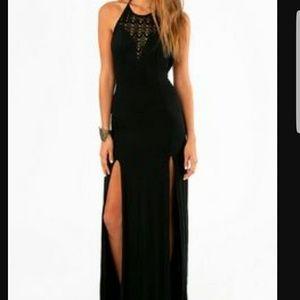 Tobi Halter Maxi Dress Size S