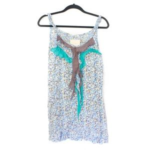 Dresses & Skirts - NWT Floral and frills dress