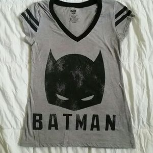Batman v neck tshirt