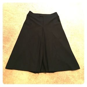 ZARA Spain long culotte skirt