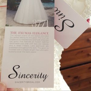 Sincerity Bridal Dresses - NWT Wedding Gown