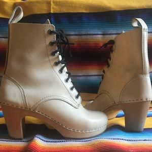 Swedish Hasbeens 'Toffel'  leather boots