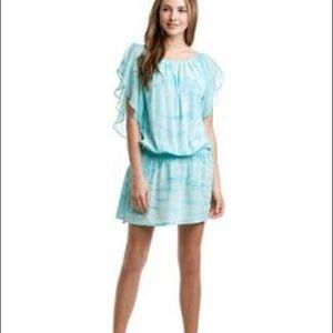 Gypsy 05 Silk Turquoise Dress