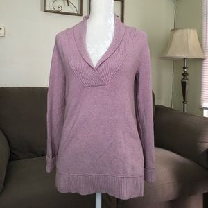 Eddie Bauer Sweater Lavender Medium Weight