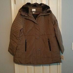 af6d3a5f057 croft   barrow Jackets   Coats - Plus Size Croft   Barrow Quilted Stadium  Jacket