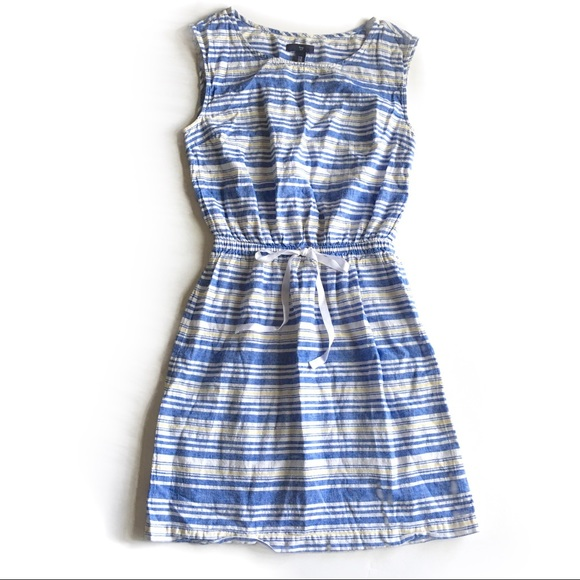 e76b61b5841 GAP Dresses   Skirts - ۥ GAP spring summer Striped Linen dress F14