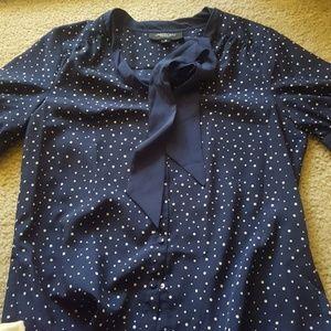 Jason Wu for Target polka dot blouse