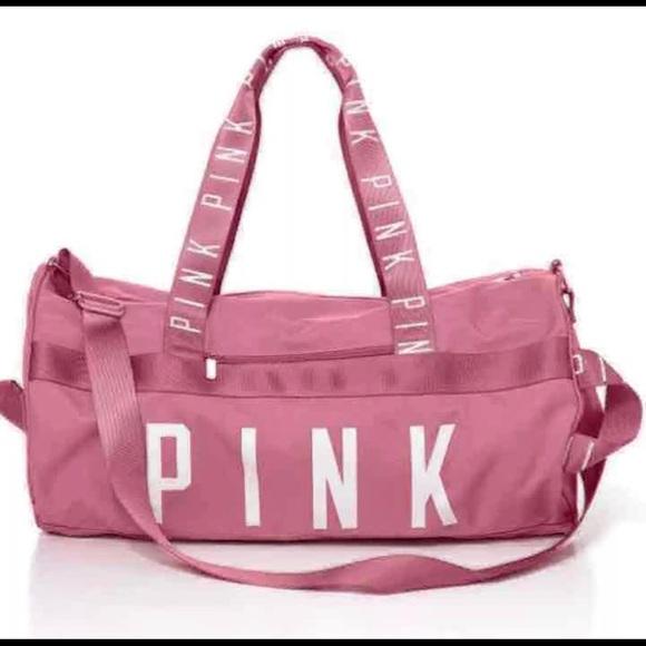 36b61dbdbf VS Pink Soft Begonia Duffle Gym Bag EUC. M 59b4595f4e95a3265901639c