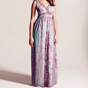 Simply Be floral maxi dress size 16