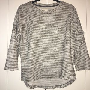 Lou & Grey Tweed Knit T Shirt