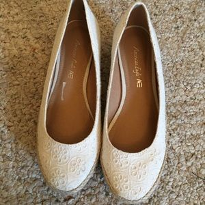 American Eagle Espadrilles. Very Pretty!