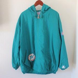 Vintage Miami Dolphins Starter Jacket