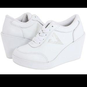 Volatile White Sneakers