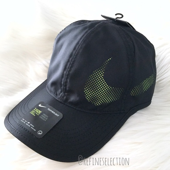 f9c45bcb47912 Nike Aerobill Featherlight Perforated Hat Cap