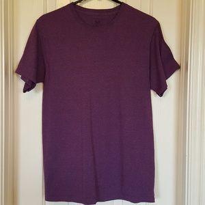 Mens heathered purple tee