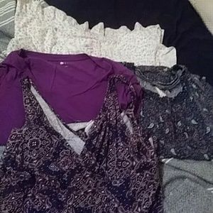 Two tops dress and night gown lot xl 1x casual wea