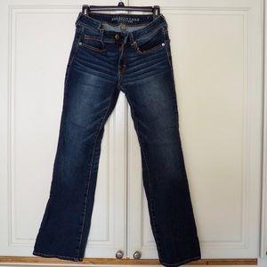 American Eagle Kick-Boot Blue Jeans