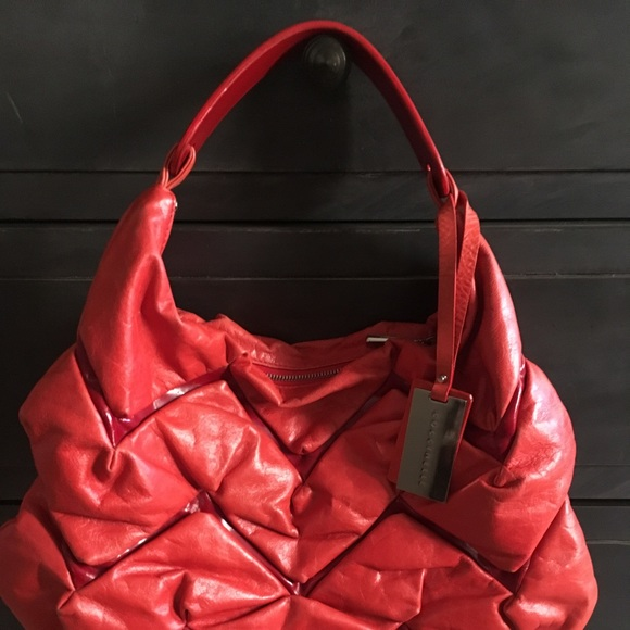 c5fda73092ac73 coccinelle Handbags - Coccinelle red hobo bag