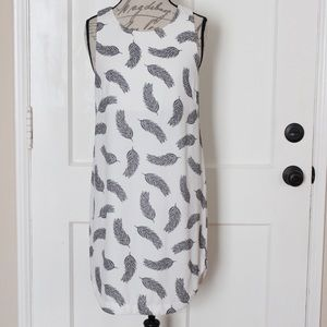 H&M Feather Print Dress