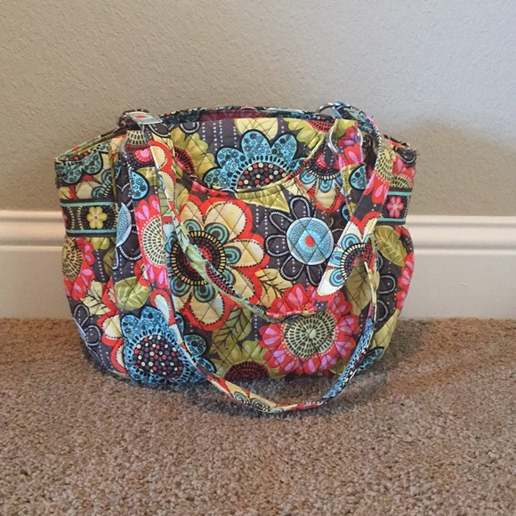 38b243de7 Vera Bradley Flower Shower Glenna Shoulder Bag. M_59b4756c6d64bc7a6201bf01