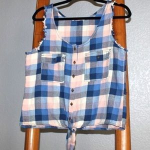 Hippie Laundry flannel button up