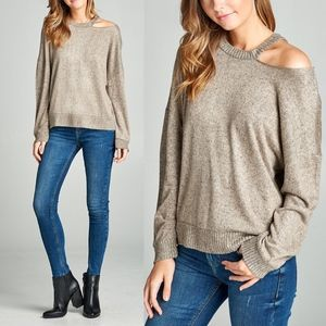 CRAWFORD Softest Top - TAUPE