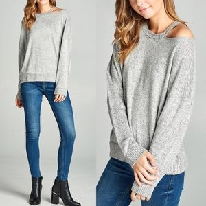 CRAWFORD Softest Top - H. GREY