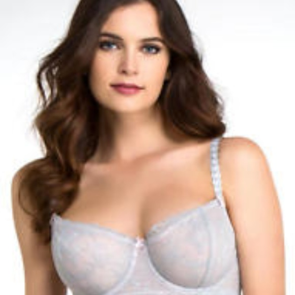bf623a22c0826 NWT Felina F5019 Floral Lace Applique Push Up Bra