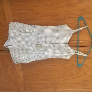 H&M zip up Romper