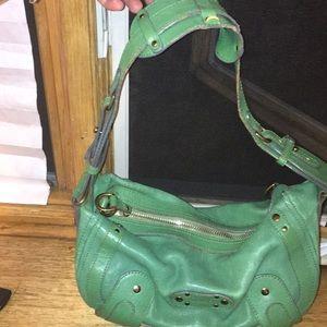 designer handbag. Genuine leather