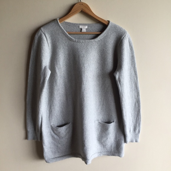 49f528e3812 J. Crew Factory Sweaters | J Crew Merino Wool Pocket Tunic Sweater ...