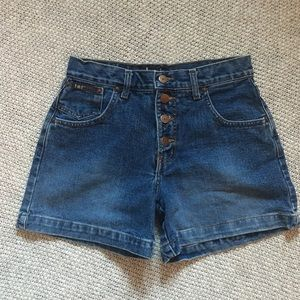 Vintage ButtonFly High Waisted Shorts