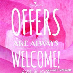 All Reasonable Offers Accepted  💕💕