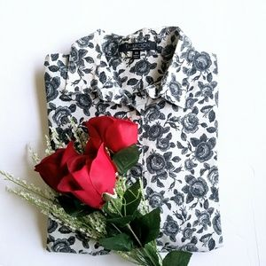 Thakoon by Designation Floral Button Down